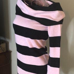 Pink and Black cowl neck from BèBè